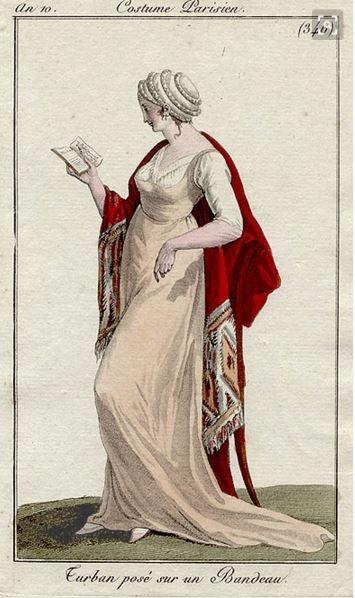 Costume Parisien, 1802, Bibliothèque des Arts Décoratifs