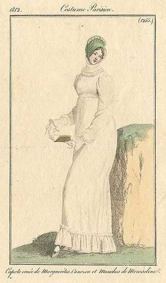 Costume Parisien, 1812