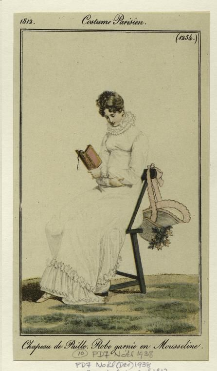 Costume Parisien 1812, NYPL digital archives