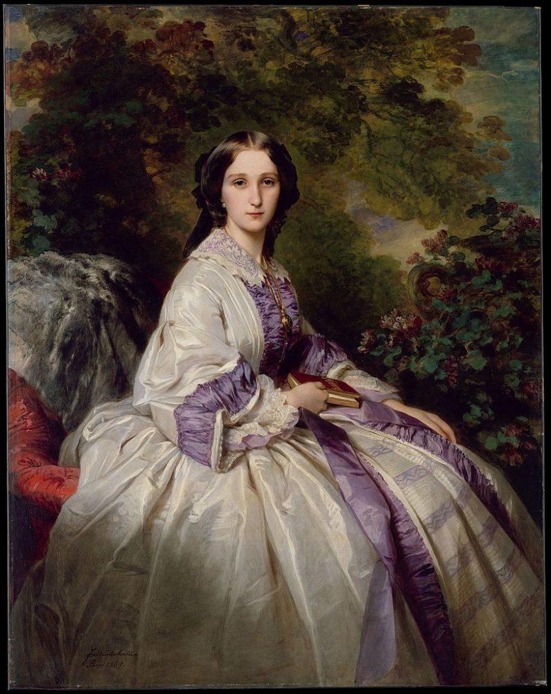 Countess Alexander Nikolaevitch Lamsdorff (Maria Ivanovna Beck, 1835–1866) by Franz Xavier Winterhalter 1859 The Metropolitan Museum of Art, DT2553