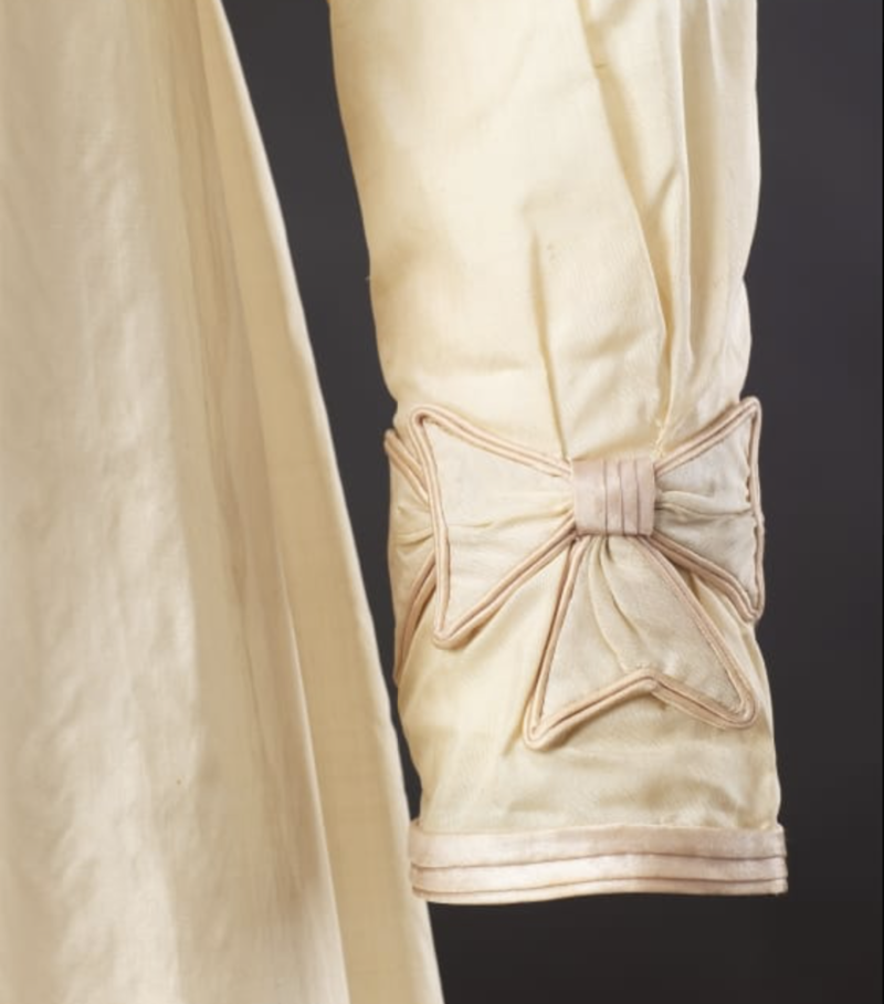 Dress and Spencer, c. 1820, Silk:alpaca mixture, trimmed with silk, The John Bright Collection