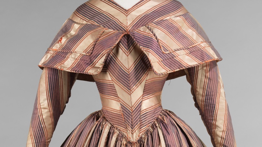 Dress, 1845–50, American, silk, Brooklyn Museum Costume Collection at The Metropolitan Museum of Art, Gift of the Brooklyn Museum, 2009; Gift of Annie M. Colson, 1929, 2009.300.630