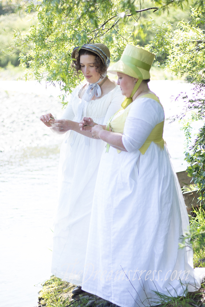 Regency costumes, thedreamstress.com