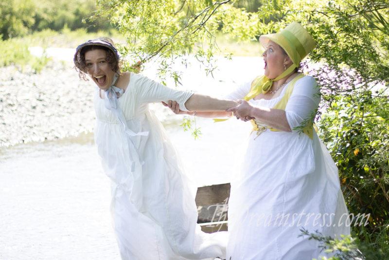 Regency costumes, thedreamstress.com
