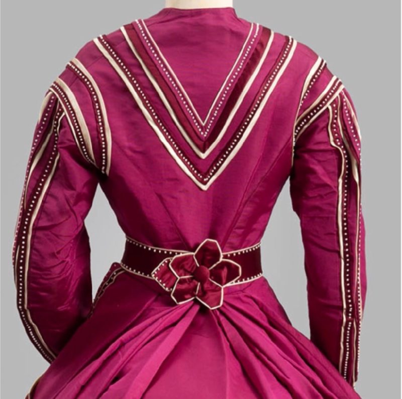 Day dress, 1867, Albany Institute of History & Art, 1972.95.7