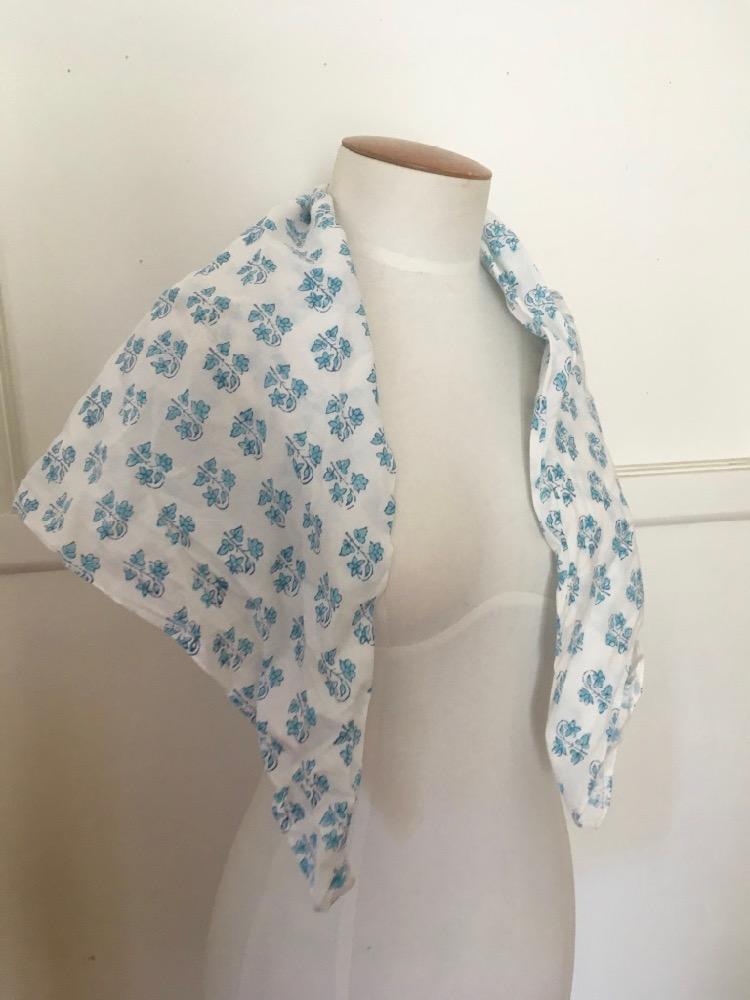A late 18th c kerchief thedreamstress.com