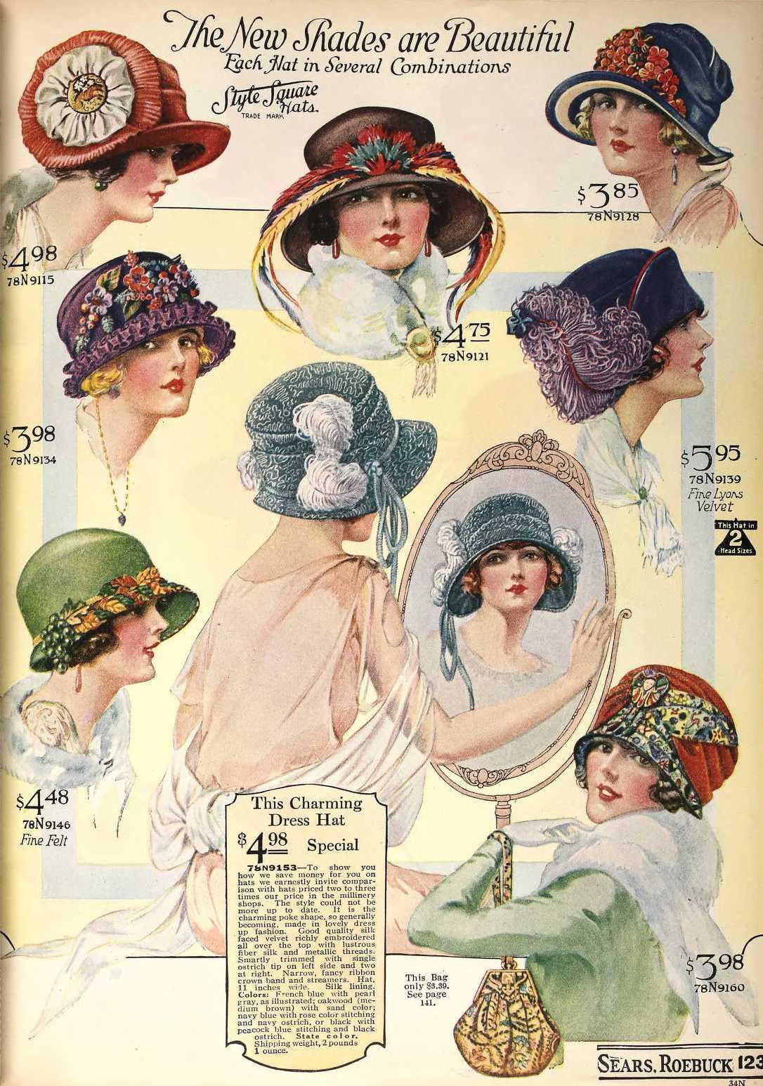 Hats, 1923