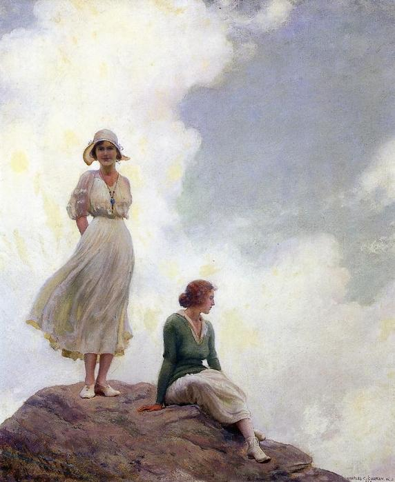 Charles Courtney Curran, The Boulder, 1915