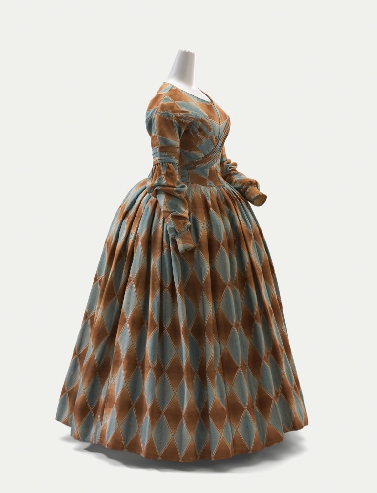 Dress (c. 1840), England, wool, silk National Gallery of Victoria, Melbourne Purchased through The Art Foundation of Victoria with the assistance of David Syme & Co. Limited, Fellow, 1977