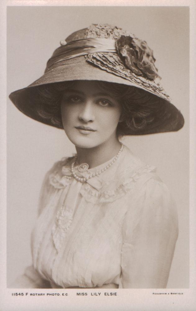 Lilie Elsie, ca 1912