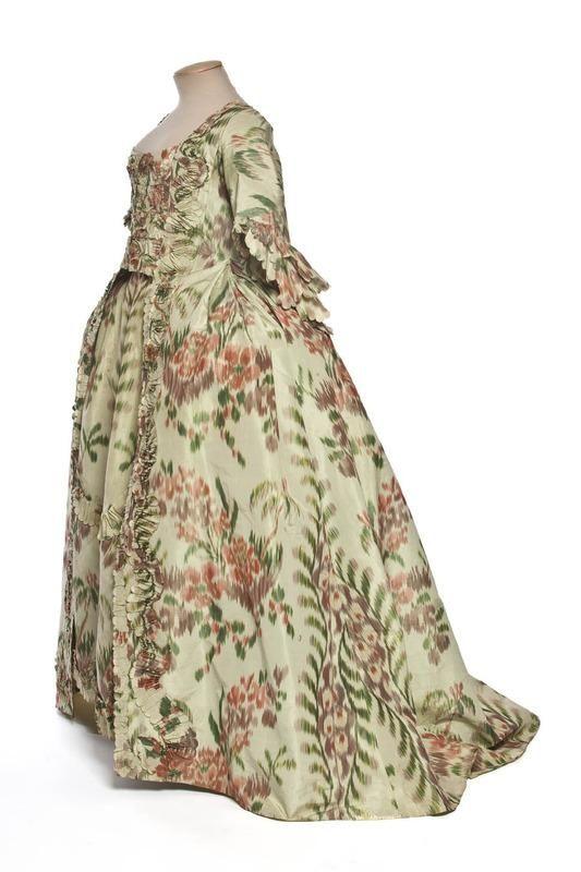 Robe à la Française, 1760, Les Arts Décoratifs