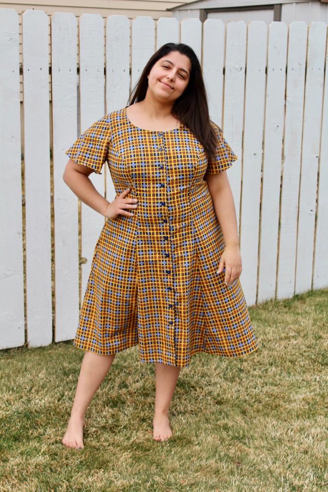 Scroop Patterns Robin Dress by @sewlike