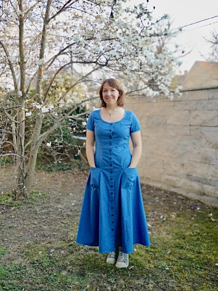 Scroop Patterns Robin Dress by Eva´s Kleidertruhe