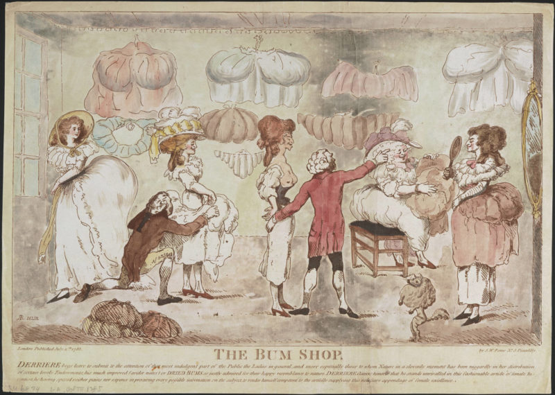 The Bum Shop, 1785. Lewis Walpole Library