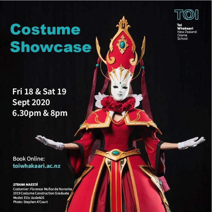 Costume Showcase at Toi Whakaari