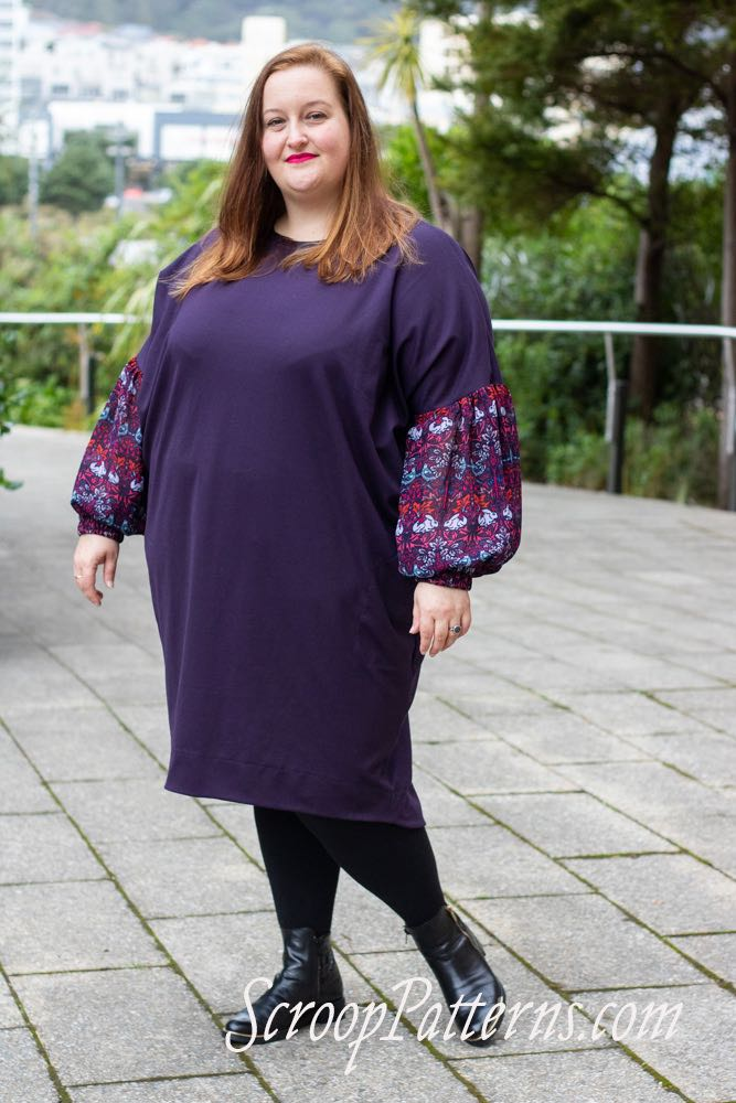 Te Aro Dress & Top ScroopPatterns.com