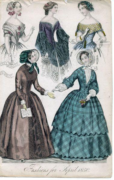 Dresses, April 1850