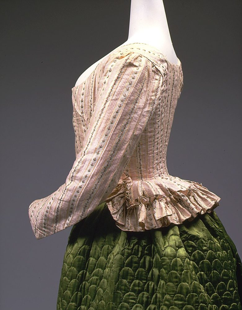 acket, ca. 1785, French, silk, linen, Purchase, Irene Lewisohn Bequest, Isabel Shults Fund and Millia Davenport and Zipporah Fleisher Fund, 1998, Metropolitan Museum of Art, 1998.253.1