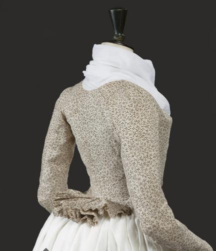 1785-1795 Cotton Print Pierrot Jacket, Christie's Auctions