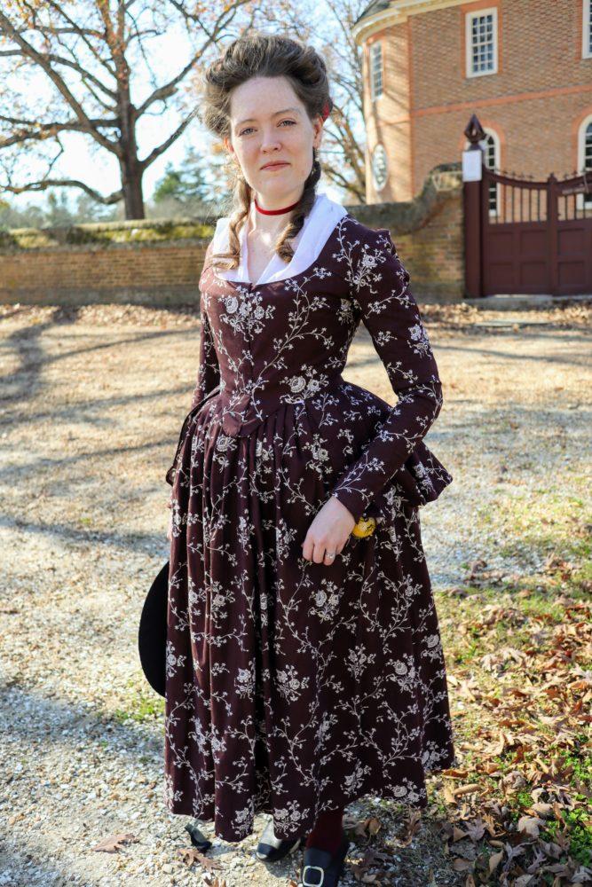 Blair of @beelder3 in the Scroop + Virgils Fine Goods Amalia Jacket
