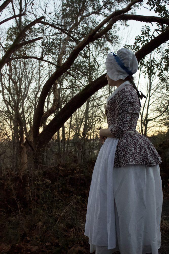 Gracie of @graciesews in the Scroop + Virgils Fine Goods Amalia Jacket