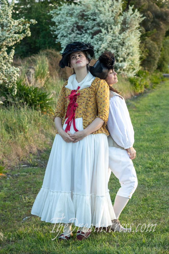 Amalia Jacket and 18th century dress ups thedreamstress.com