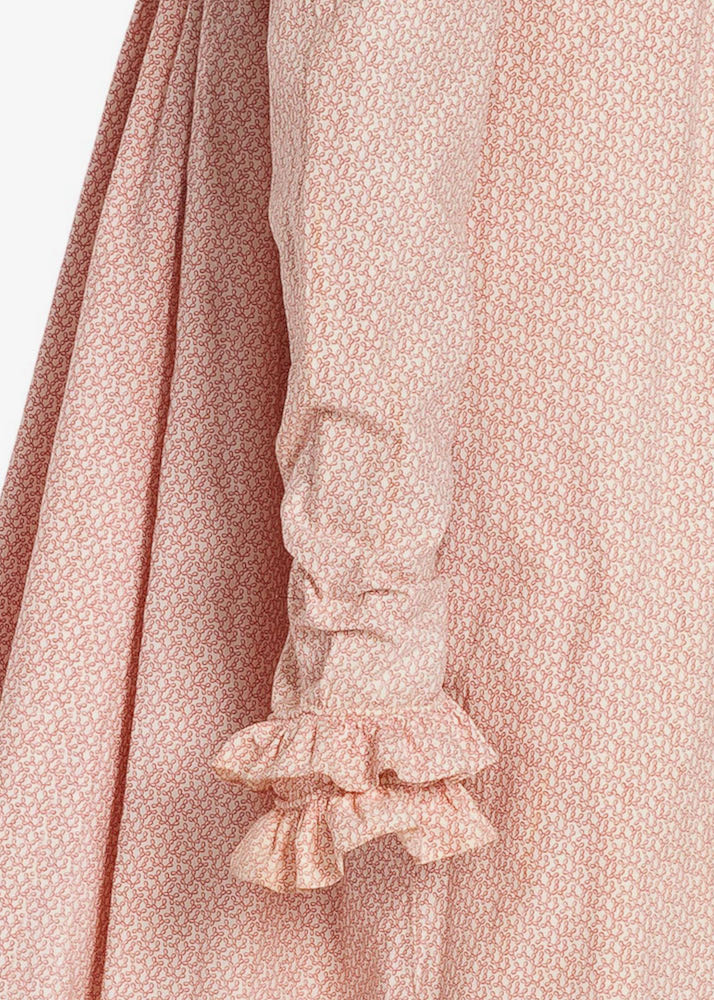 Dress and spencer, France, 1818-1820, Roll printed cotton, 49-32-17.A.B ©Les Arts Decoratifs Paris