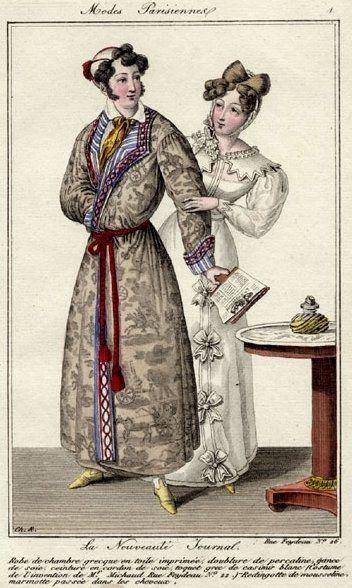 Modes Parisiennes 1825