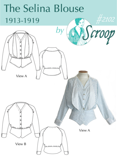 The Scroop Patterns Selina Blouse ScroopPatterns.com