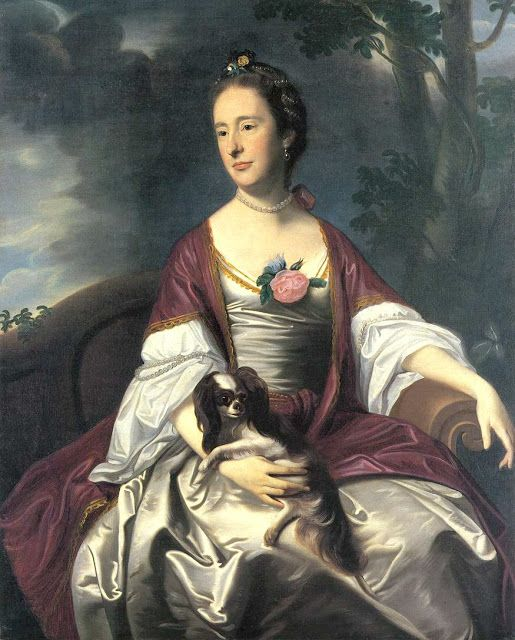 Mrs Jerathmael Bowers, 1763, John Singleton Copley (1738-1815)