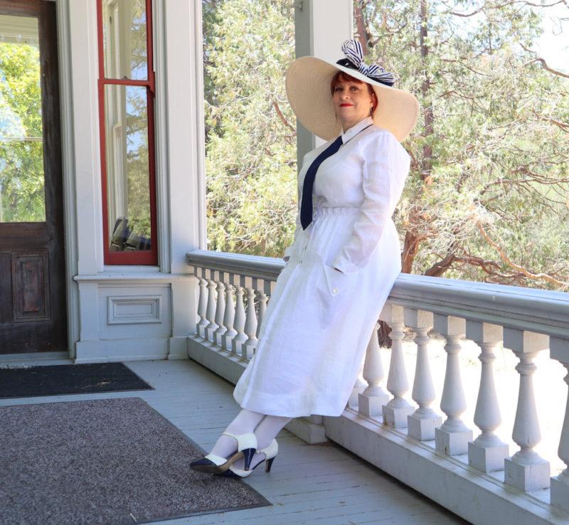 Loran @loranwatkins in the Scroop Patterns Kilbirnie Skirt scrooppatterns.com