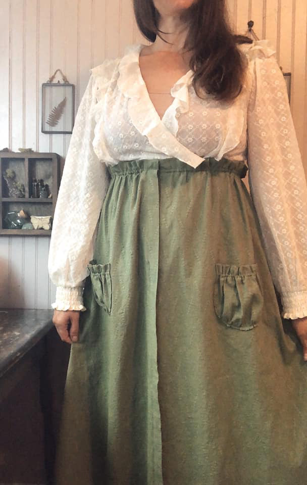 Jessica @jessnicolehandmade in the Scroop Patterns Kilbirnie Skirt scrooppatterns.com