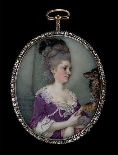 Miniature, late 1770s