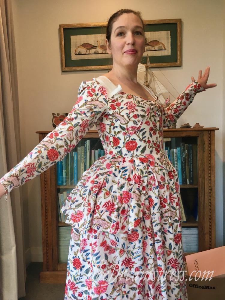 An extremely exuberant Amalia Jacket thedreamstress.com