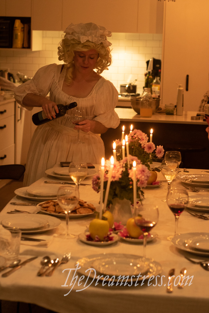 A midwinter Georgian dinner thedreamstress.com