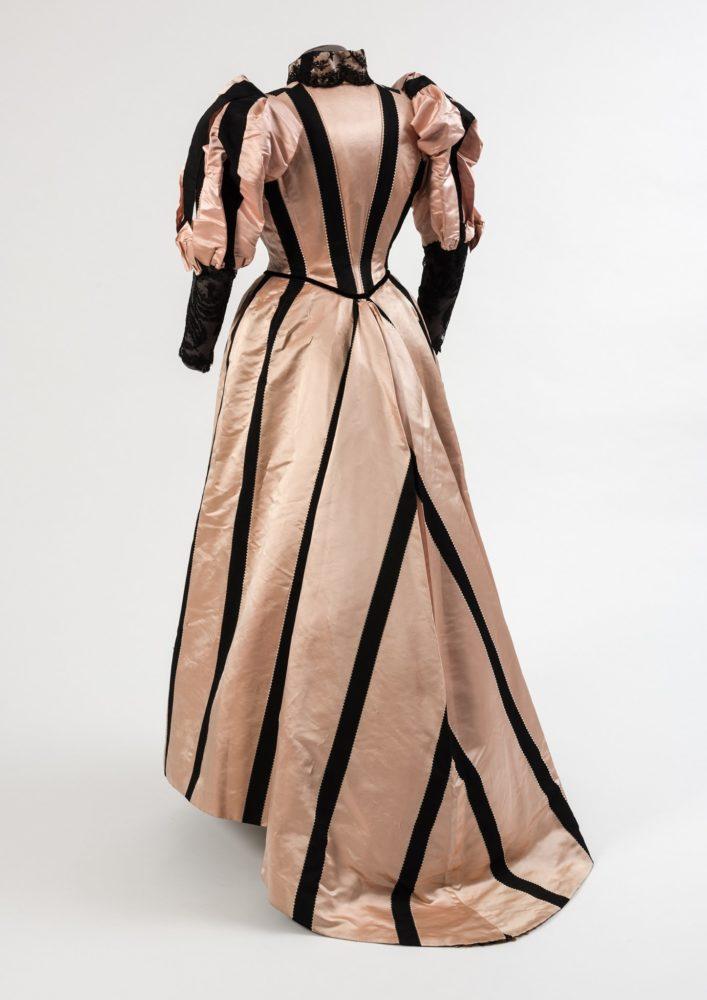 Dress, 1893, Duboys, Paris, silk, French, Fashion Museum Bath
