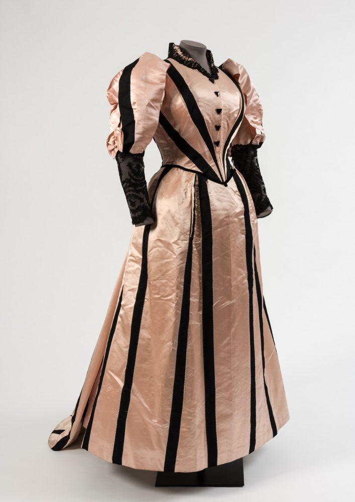 Dress, 1893, Duboys Paris, silk, French, Fashion Museum Bath