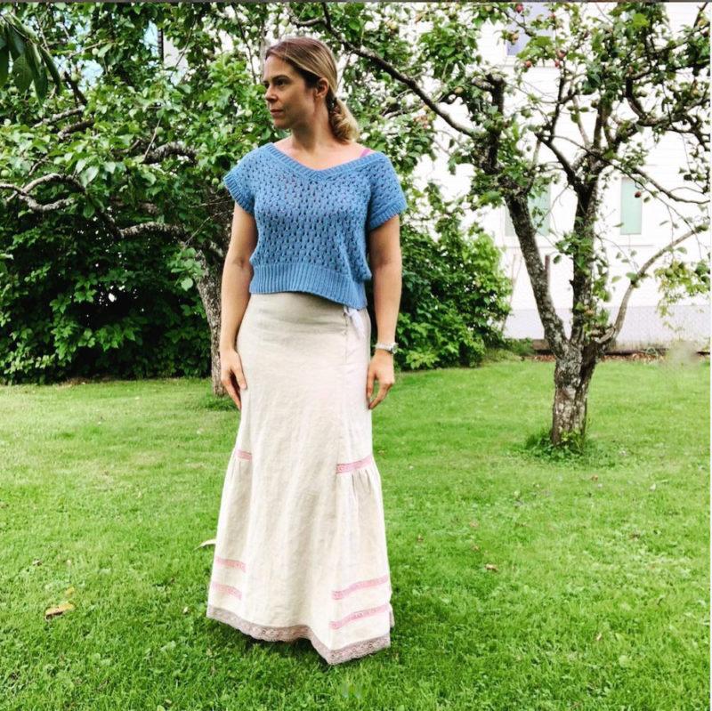 @tricours Scroop Patterns Ettie Petticoat