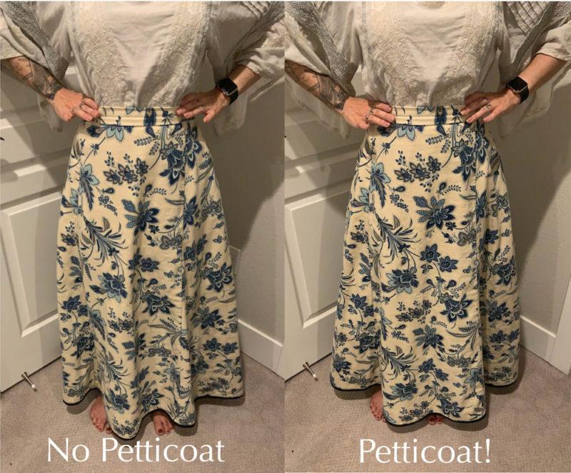 @crystasews Scroop Patterns Ettie Petticoat