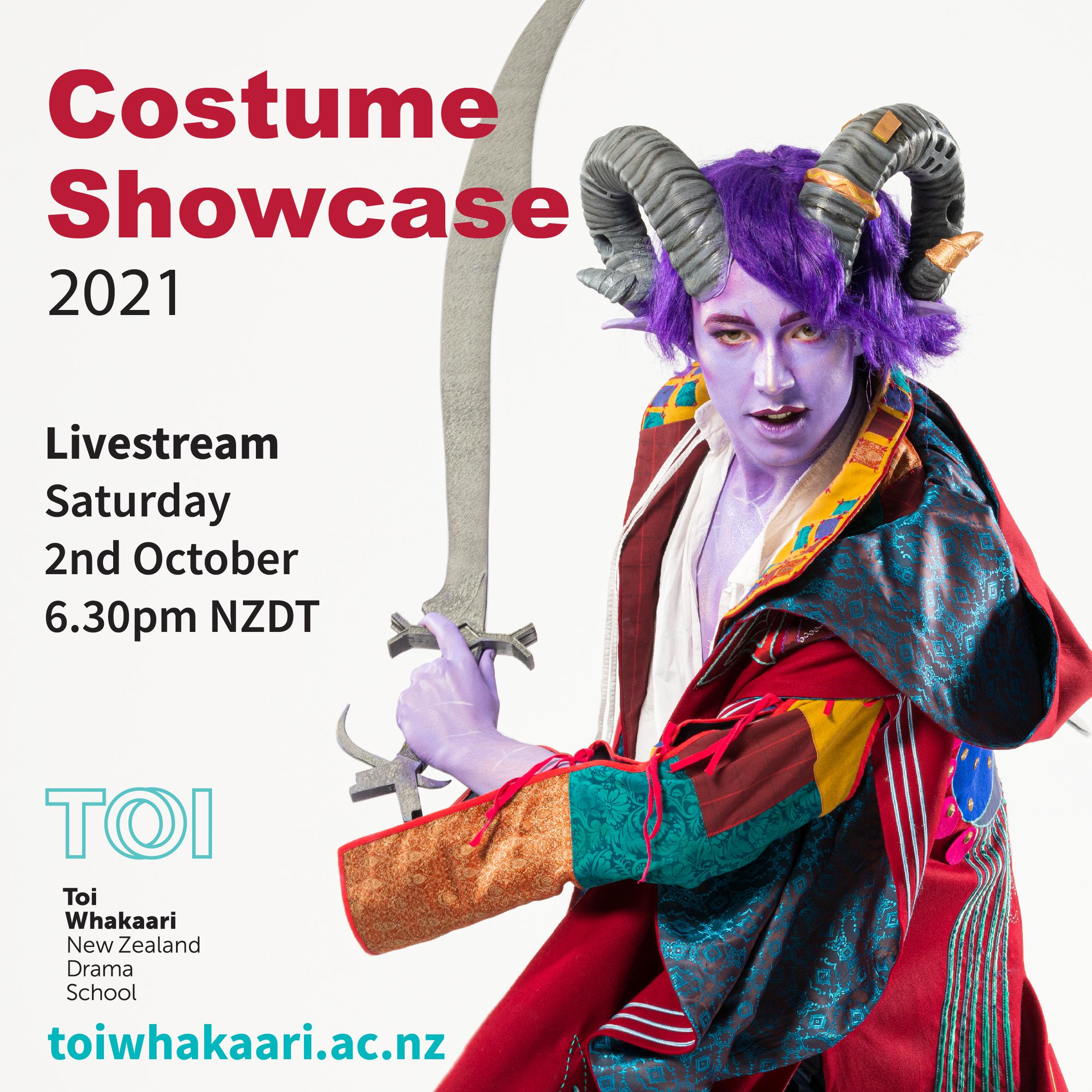 Toi Whakaari Costume Showcase 2021 thedreamstress.com